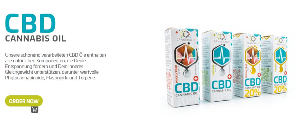 Vorgestellt wird das Cannergrow Produkt CBD Cannabis Öl